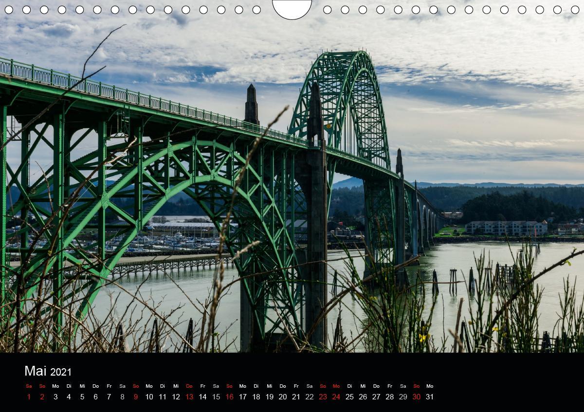 Die Oregon-Küste (Wandkalender 2021 DIN A4 quer)