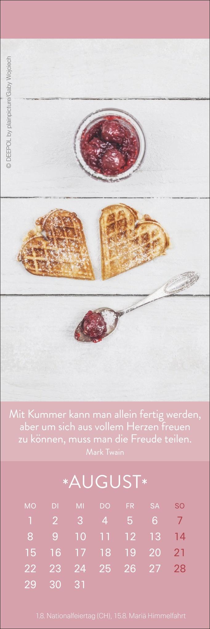 Herzenswünsche Lesezeichen & Kalender 2022