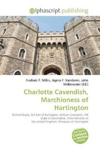 Charlotte Cavendish, Marchioness of Hartington