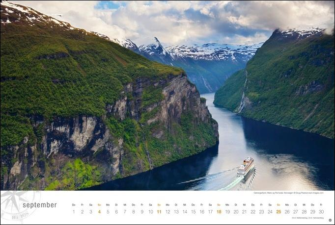 Hurtigruten Globetrotter Kalender 2022