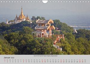 Myanmar 2022 (Wandkalender 2022 DIN A4 quer)