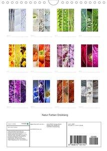 Natur Farben Dreiklang (Wandkalender 2022 DIN A4 hoch)