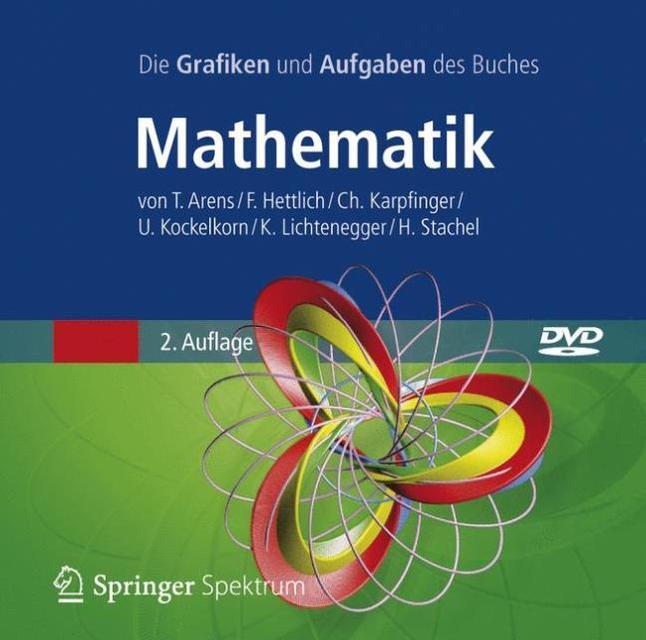 Die Grafiken und Aufgaben des Buches Mathematik