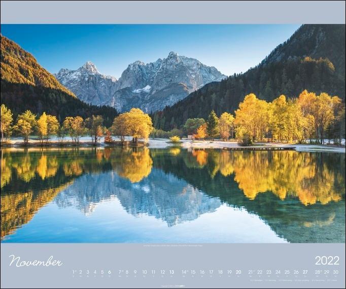 Alpen im Licht Kalender 2022
