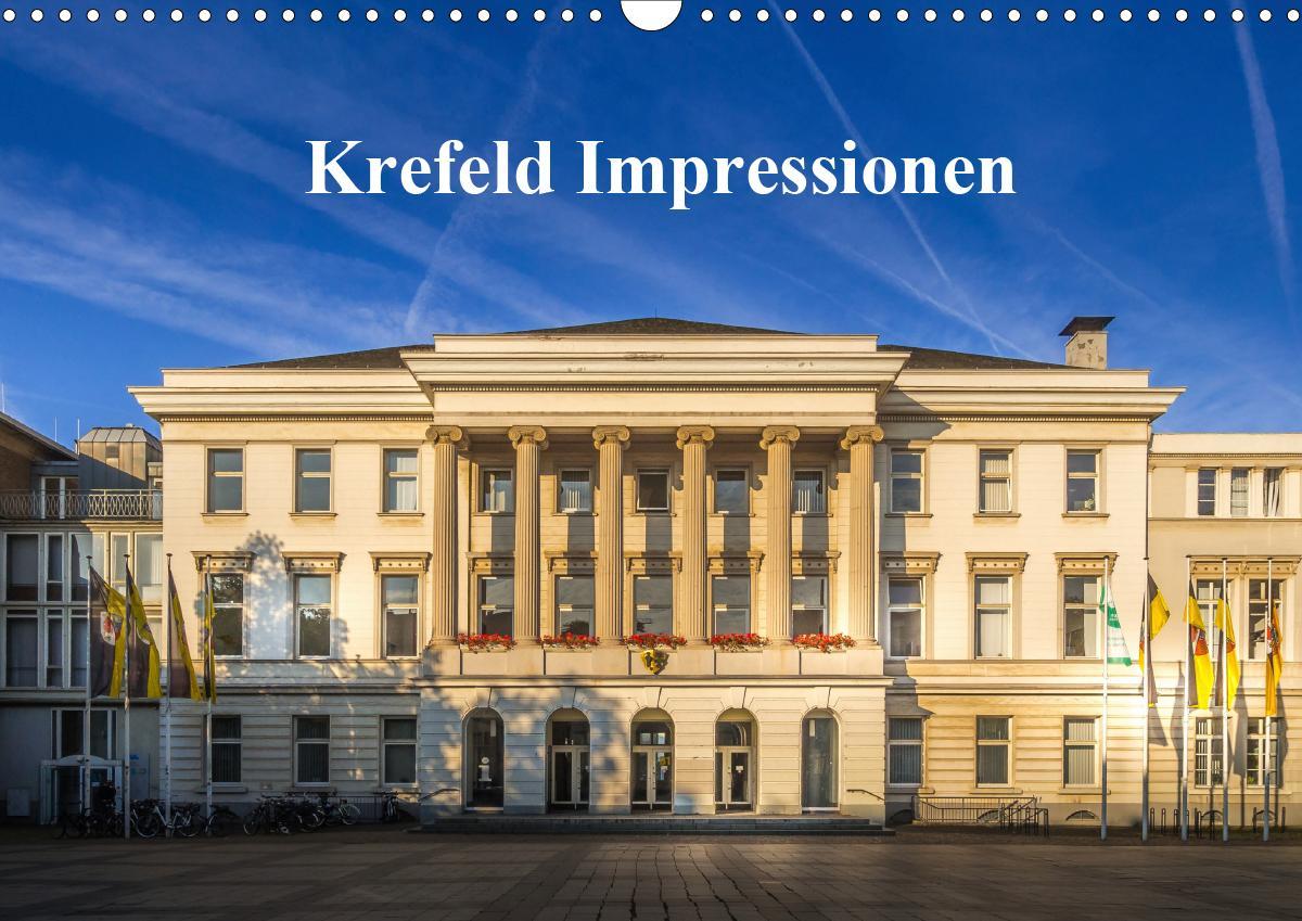 Krefeld Impressionen (Wandkalender 2021 DIN A3 quer)