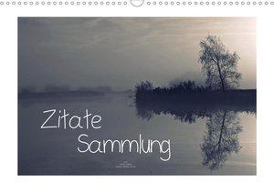 Zitate - Sammlung (Wandkalender 2021 DIN A3 quer)