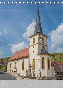 Kirchentürme in Franken (Tischkalender 2022 DIN A5 hoch)