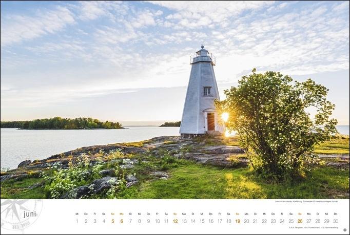 Skandinavien Globetrotter Kalender 2022