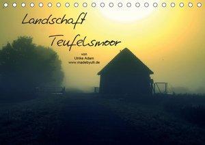 Landschaft Teufelsmoor / 2021 (Tischkalender 2021 DIN A5 quer)