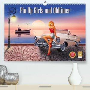 Pin-Up Girls und Oldtimer by Mausopardia (Premium, hochwertiger