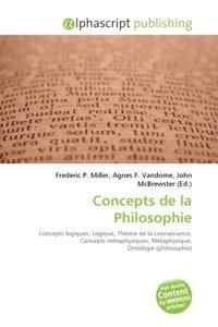 Concepts de la Philosophie