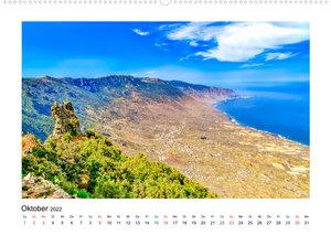 El Hierro - Insel mit allen Sinnen (Wandkalender 2022 DIN A2 quer)