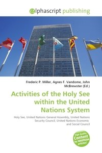 Activities of the Holy See within the United Nations System