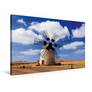 Premium Textil-Leinwand 75 cm x 50 cm quer Antigua - Molina