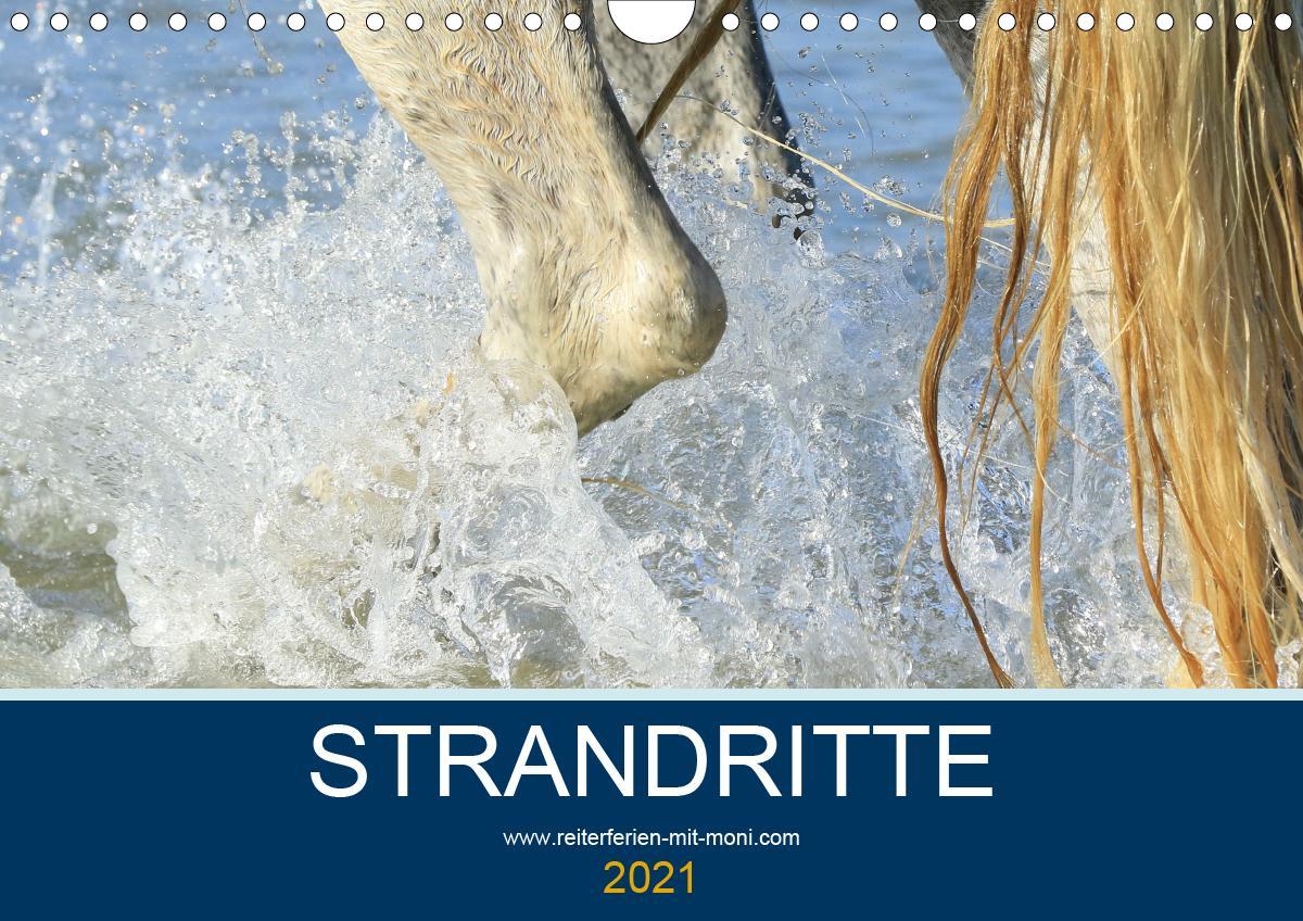 STRANDRITTE (Wandkalender 2021 DIN A4 quer)