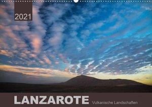 LANZAROTE Vulkanische Landschaften (Wandkalender 2021 DIN A2 que