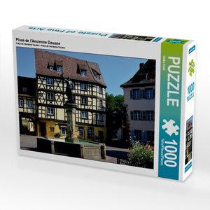 CALVENDO Puzzle Place de l'Ancienne Douane 1000 Teile Puzzle quer