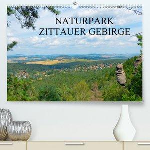 Naturpark Zittauer Gebirge (Premium, hochwertiger DIN A2 Wandkal