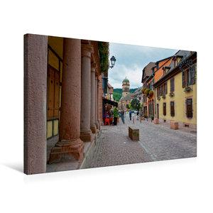 Premium Textil-Leinwand 75 cm x 50 cm quer Rue du G?n?ral de Gaulle
