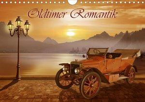 Oldtimer Romantik (Wandkalender 2021 DIN A4 quer)