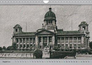 Hamburg, alte Aufnahmen neu interpretiert. (Wandkalender 2022 DIN A4 quer)