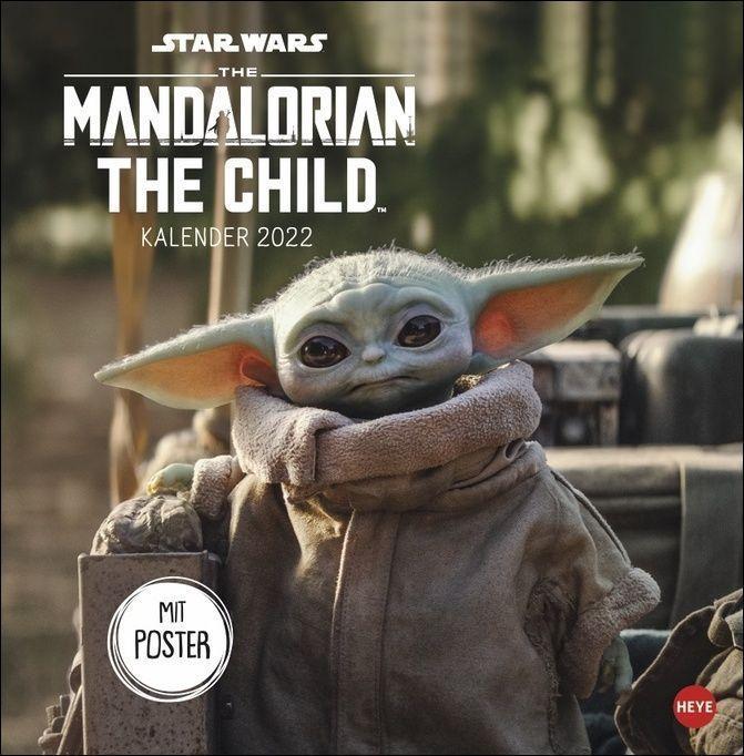 The Mandalorian Broschurkalender 2022