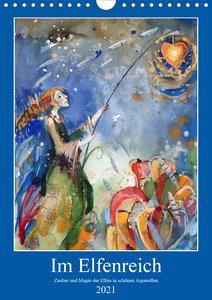 Im Elfenreich- Zauber und Magie der Elfen in schönen Aquarellen