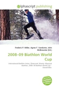 2008 09 Biathlon World Cup