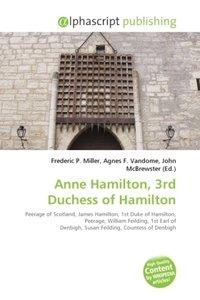 Anne Hamilton, 3rd Duchess of Hamilton