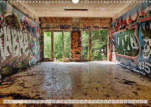 Lost Places Kalender - Daylight (Wandkalender 2022 DIN A3 quer)