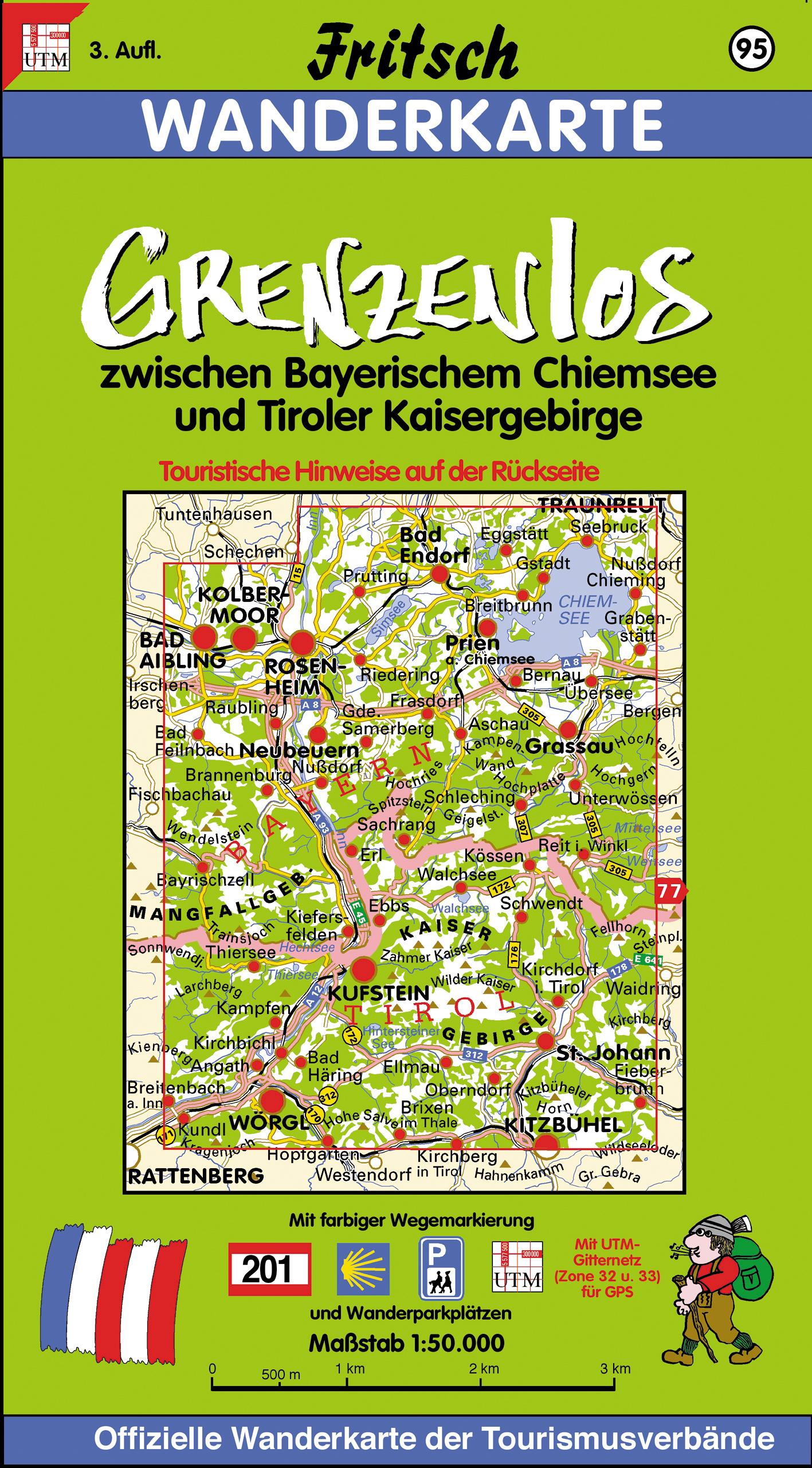 Grenzenlos zwischen Bayerischem Chiemsee und Tiroler Kaisergebir