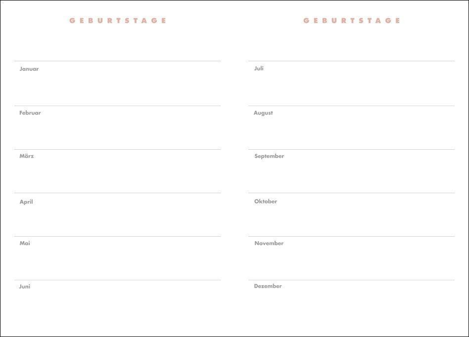 Lady Terminkalender A6 Kalender 2022