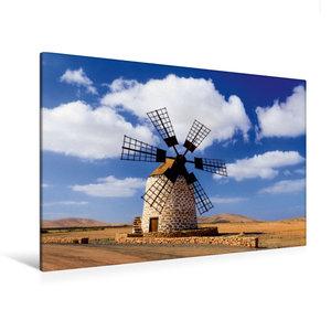 Premium Textil-Leinwand 120 cm x 80 cm quer Antigua - Molina