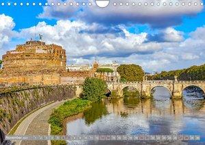Rom - Ewige Stadt am Tiber (Wandkalender 2021 DIN A4 quer)