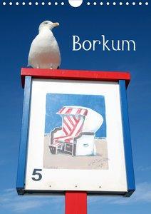Borkum (Wandkalender 2021 DIN A4 hoch)