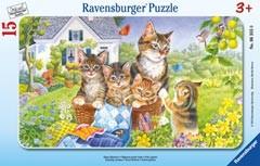 Ravensburger 06355 - Süsse Kätzchen, 15 Teile Puzzle