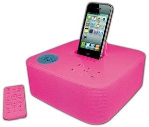 Dock Station ST01 für iPod/iPhone - pink