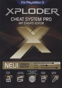 Xploder Ultimate Playstation 3 Cheating System Pro 2013