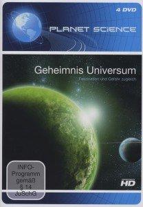 Geheimnis Universum, 4 DVDs