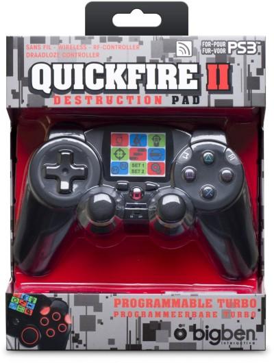 RF-Controller Quickfire 2 für PlayStation3