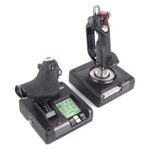 Saitek X52 Pro Flight Control System, PC-Flug-Steuerungs-System