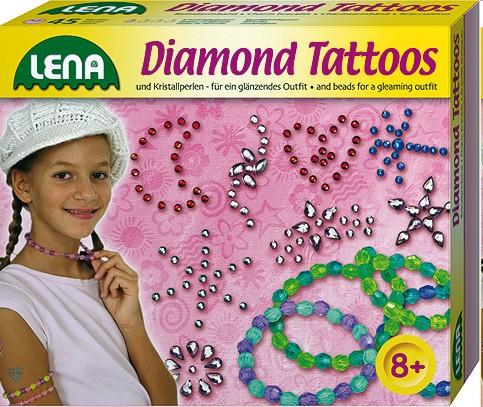 Lena 42263 - Diamond-Tattoos