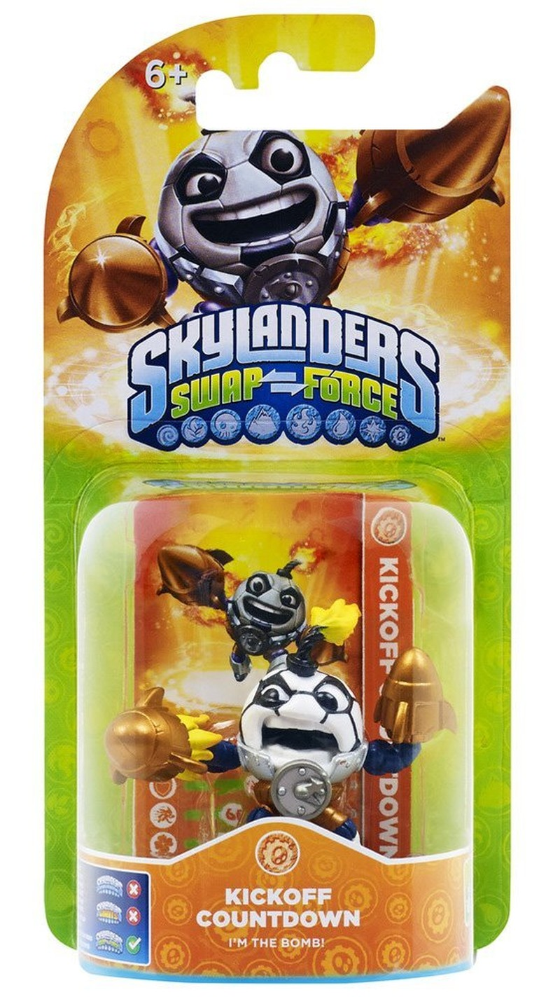 Skylanders Swap Force - Kick-Off Countdown (Single Character)