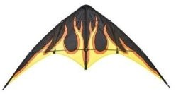 Invento 112350 - Bebop Fire, Lenkdrachen, 145 cm