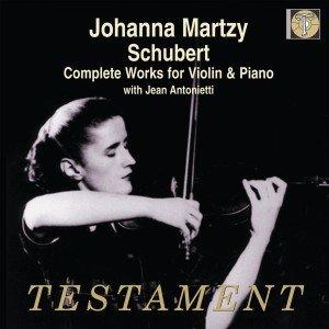 Martzy/Antonietti: Sämtliche Werke Für Violine Und Klavier