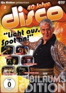 Ilja Richter präsentiert: 40 Jahre Disco, 4 DVDs