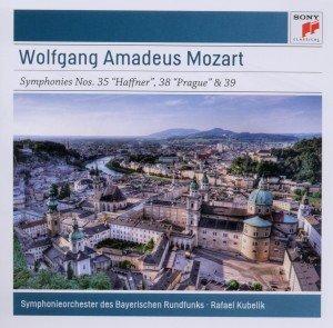"""Symphonies Nos.35 \""""Haffner\"""", 38 \""""Prague\"""" & 39, 1 Audio-CD"""