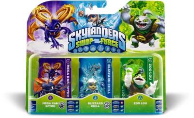 Skylanders Swap Force - Triple Pack B (ZOO LOU, MEGA RAM SPYRO,