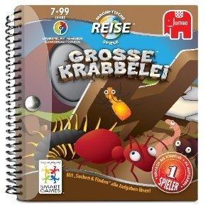 Jumbo Spiele 17630 - Große Krabbelei, Reisespiel