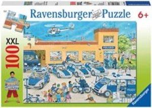 Ravensburger 10867 - Polizeirevier, 100 Teile XXL Puzzle